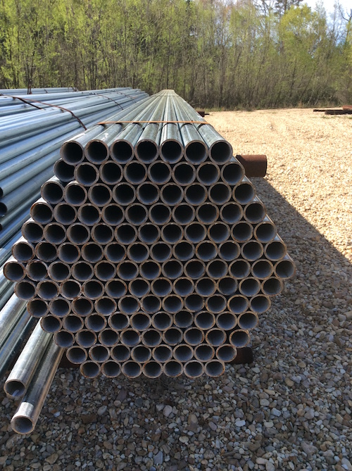 The Pipe Shop Inc | Kentwood, LA 70444 > Products > Galvanized Tubing